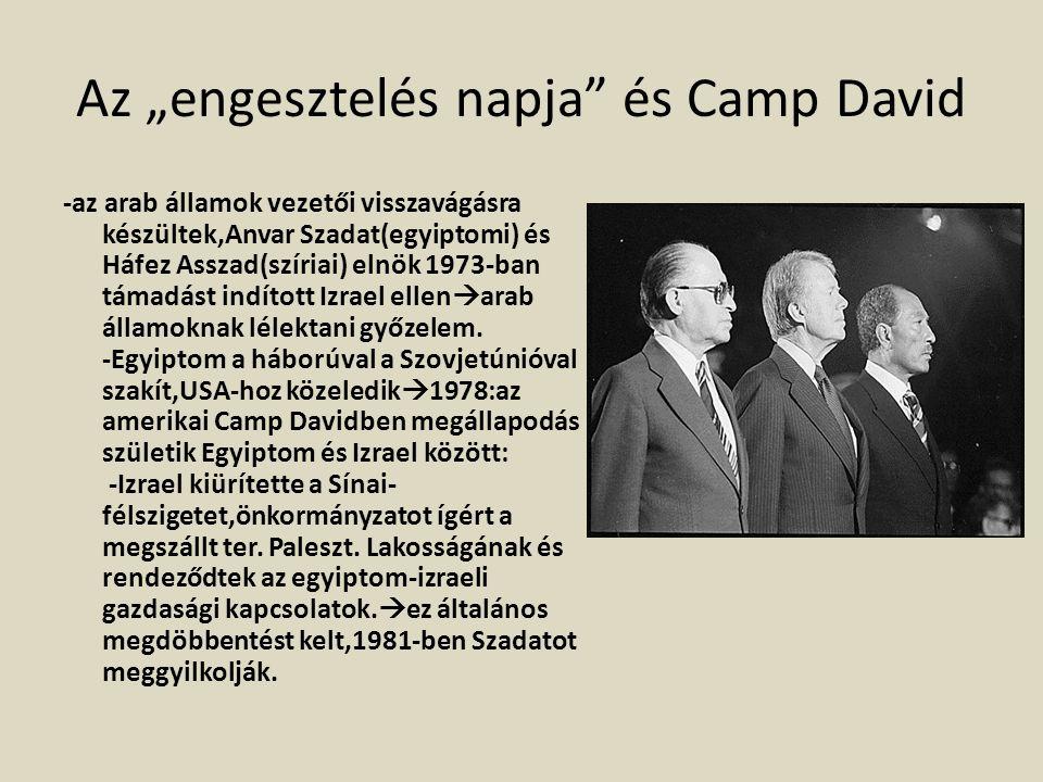 """Az """"engesztelés napja és Camp David"""