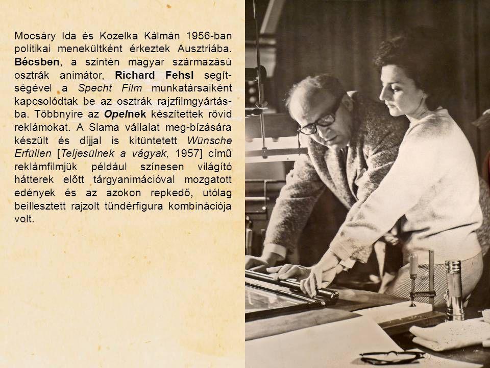 Mocsáry Ida és Kozelka Kálmán 1956-ban politikai menekültként érkeztek Ausztriába.