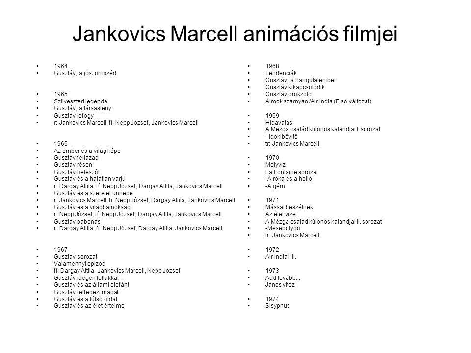 Jankovics Marcell animációs filmjei