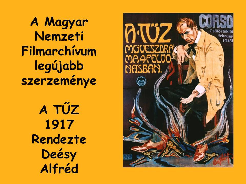 A Magyar Nemzeti Filmarchívum legújabb szerzeménye