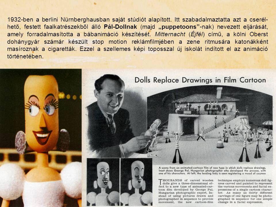 1932-ben a berlini Nürnberghausban saját stúdiót alapított