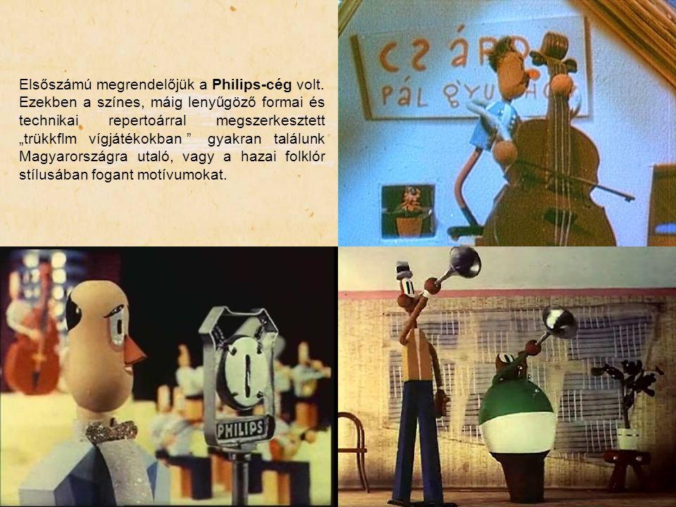 Elsőszámú megrendelőjük a Philips-cég volt