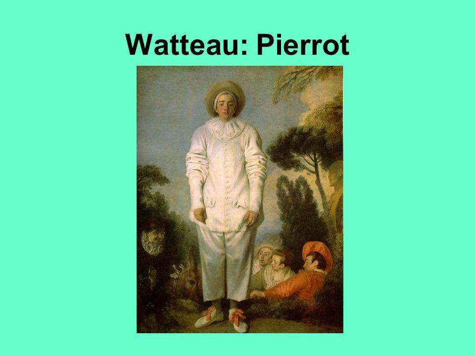 Watteau: Pierrot