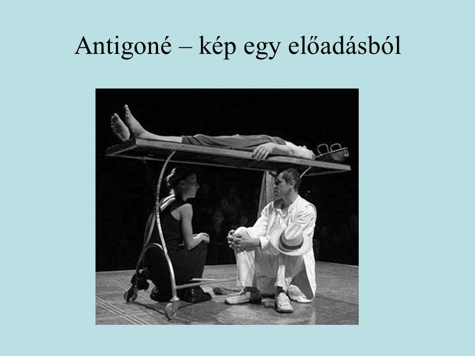 Antigoné – kép egy előadásból
