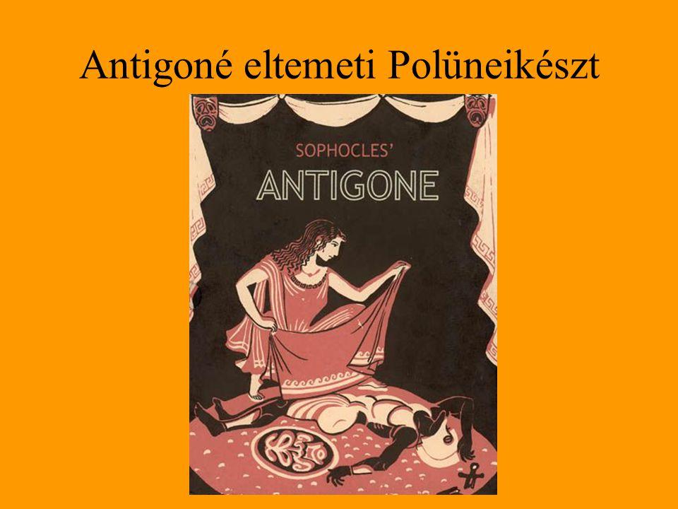 Antigoné eltemeti Polüneikészt