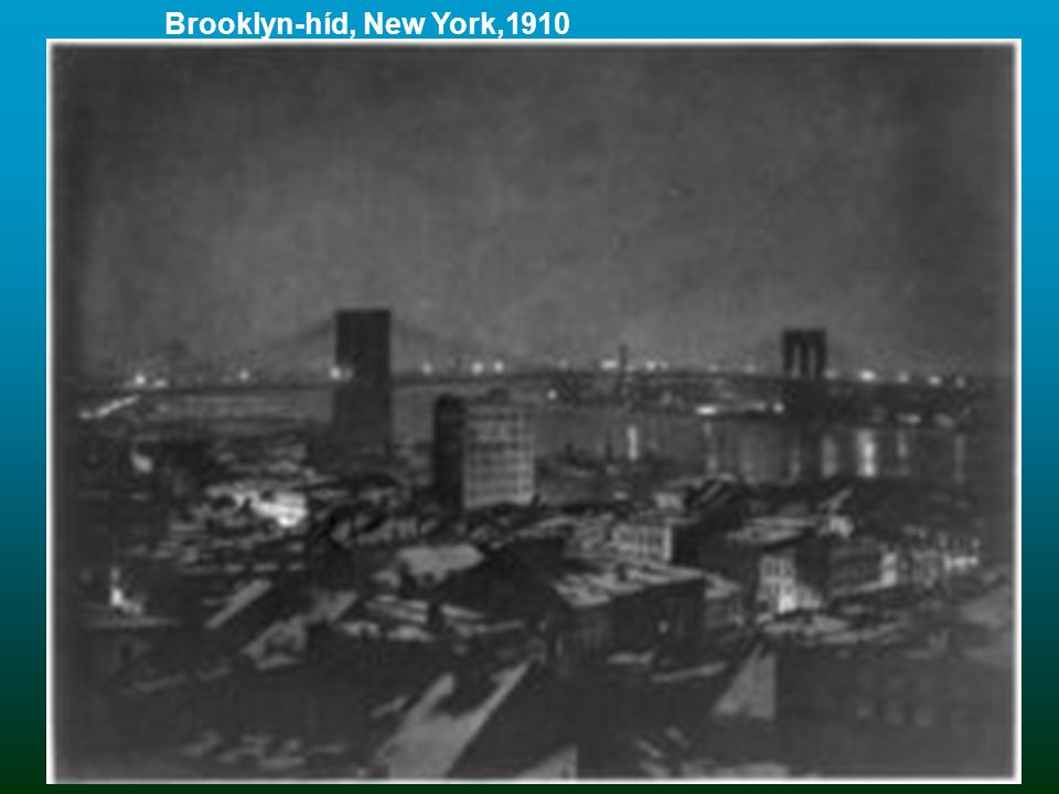 Brooklyn-híd, New York,1910