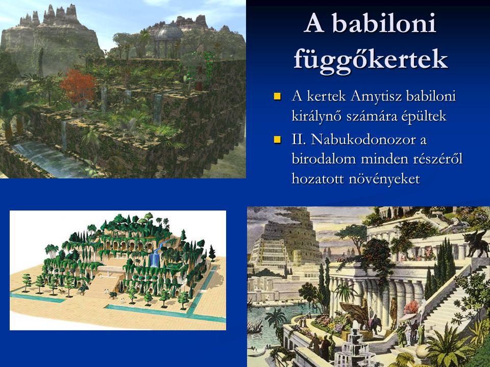 A babiloni függőkertek