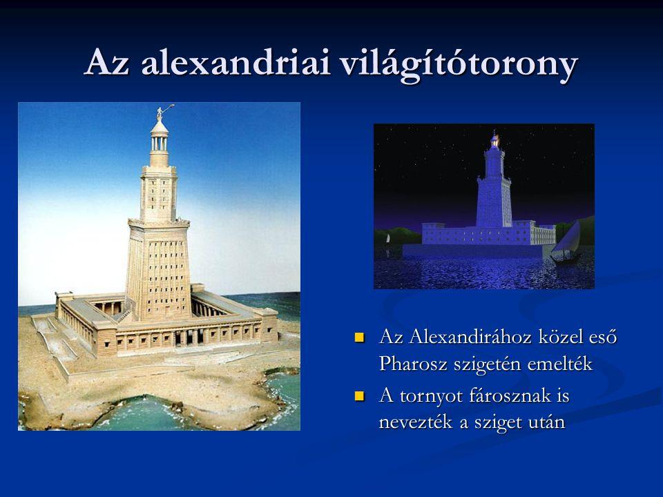 Az alexandriai világítótorony