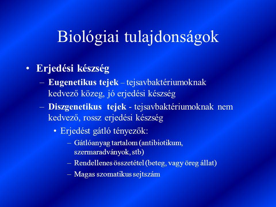 Biológiai tulajdonságok