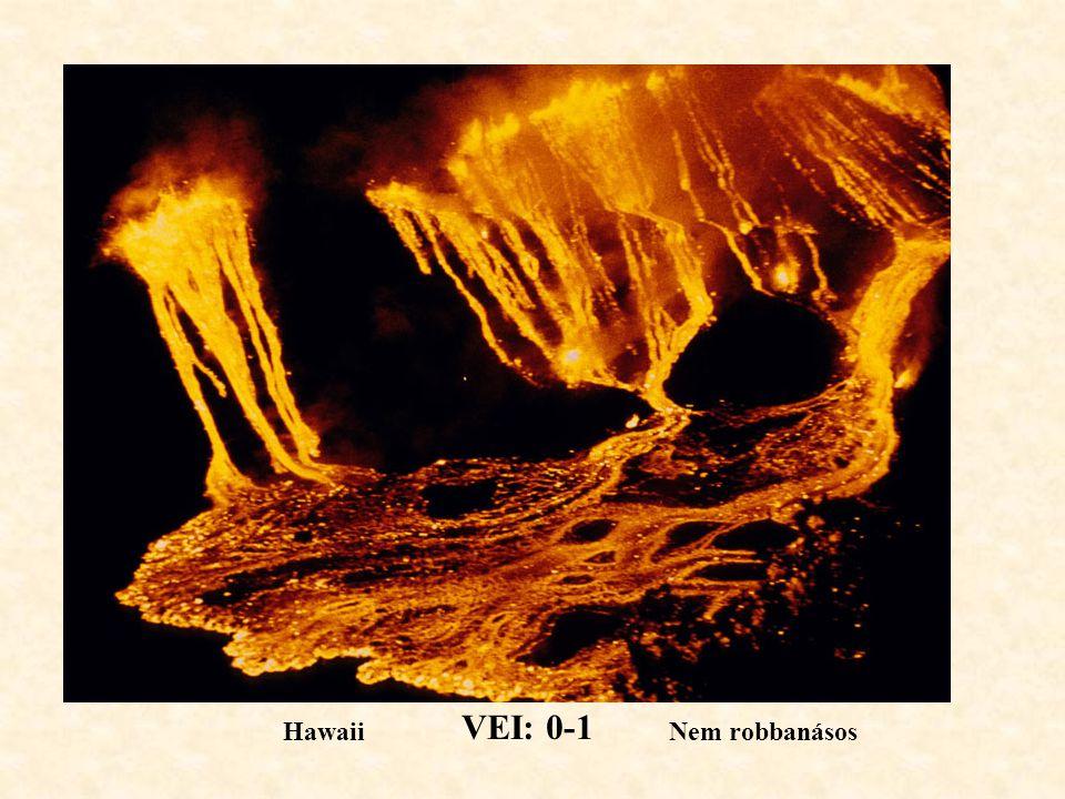 VEI: 0-1 Hawaii Nem robbanásos