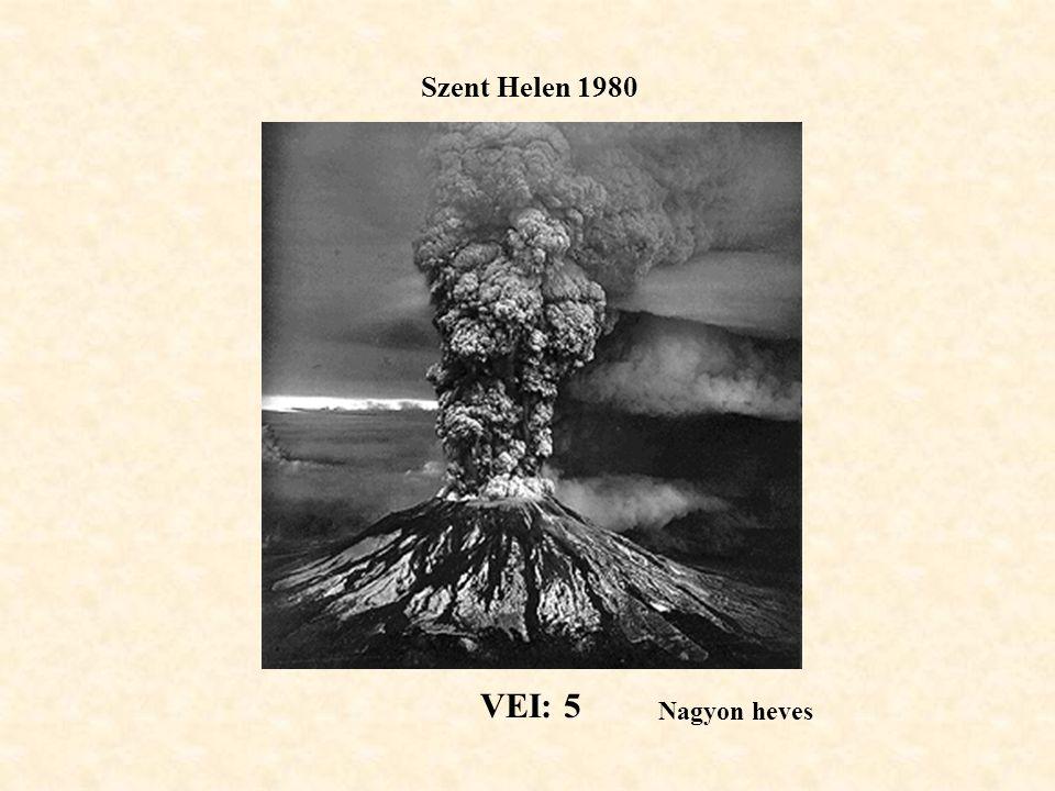 Szent Helen 1980 VEI: 5 Nagyon heves