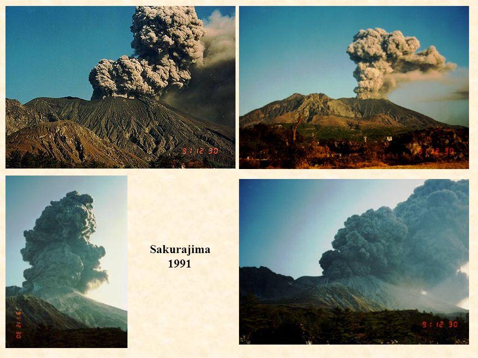 Sakurajima 1991