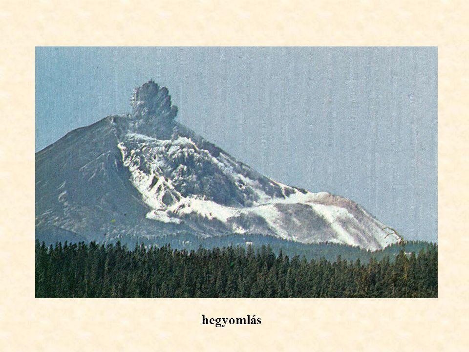 hegyomlás