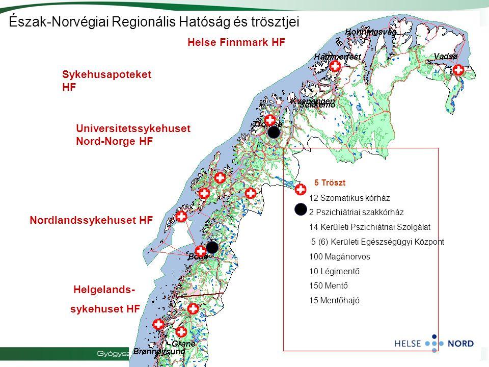 Észak-Norvégiai Regionális Hatóság és trösztjei