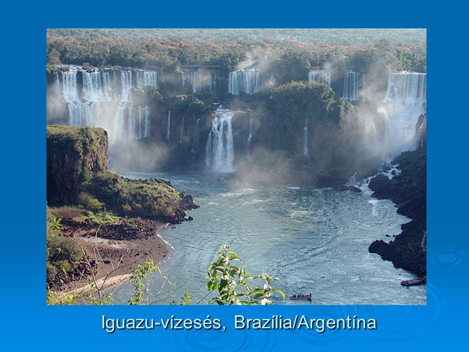 Iguazu-vízesés, Brazília/Argentína