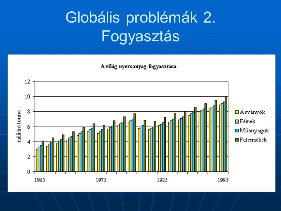 Globális problémák 2. Fogyasztás