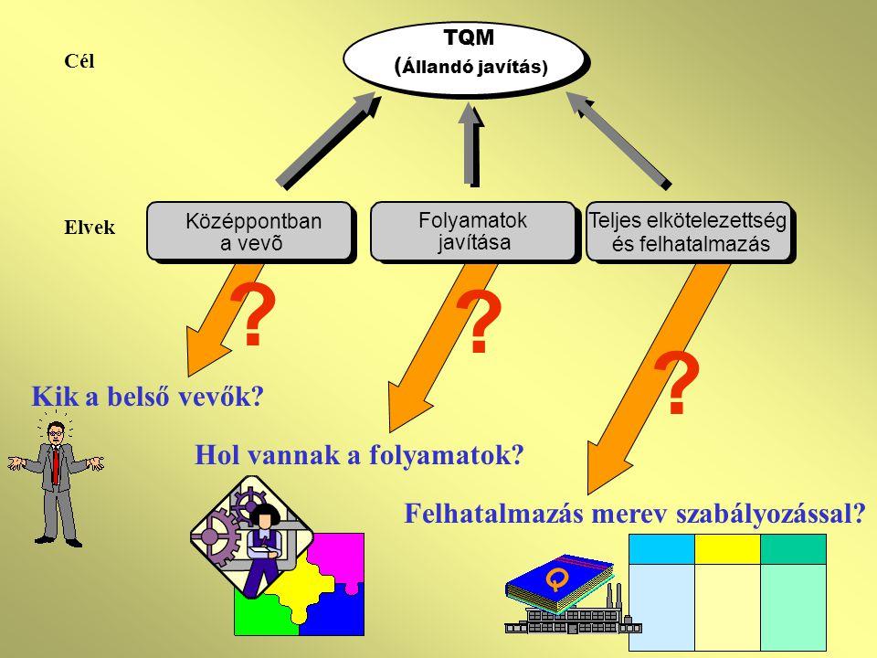 Hol vannak a folyamatok Felhatalmazás merev szabályozással