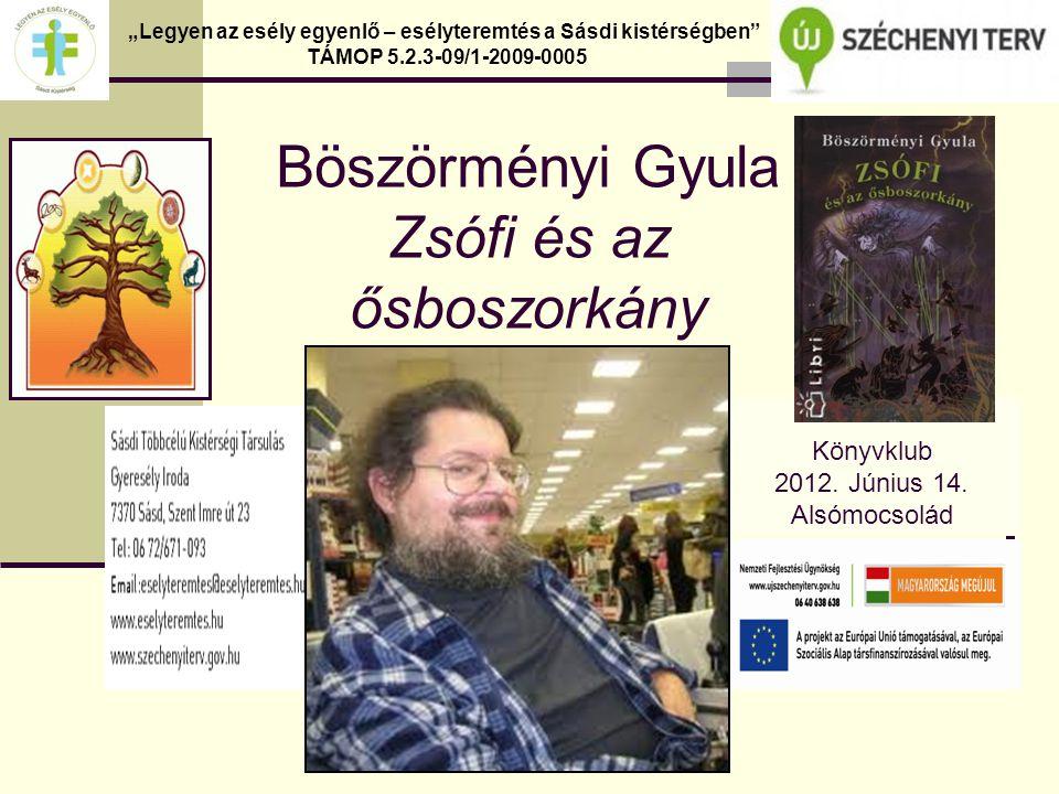 Böszörményi Gyula Zsófi és az ősboszorkány