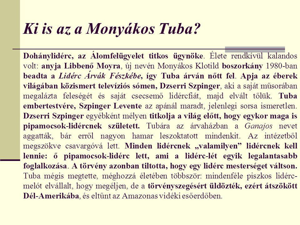 Ki is az a Monyákos Tuba