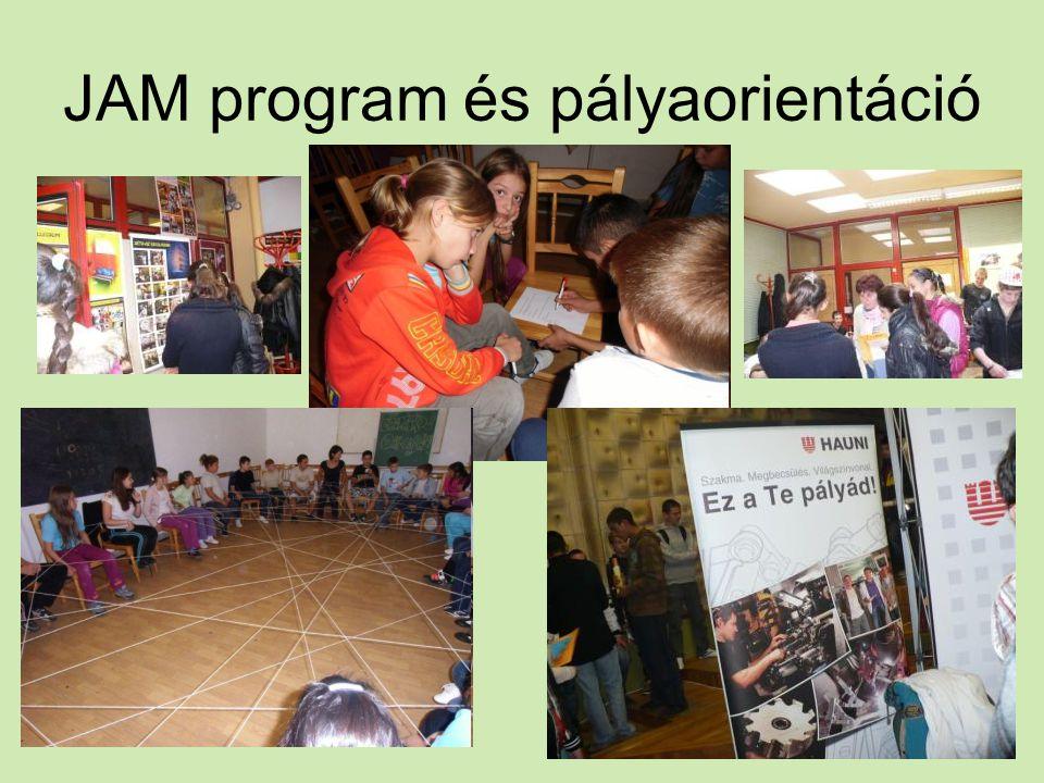 JAM program és pályaorientáció