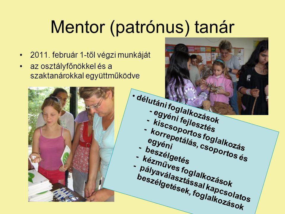 Mentor (patrónus) tanár