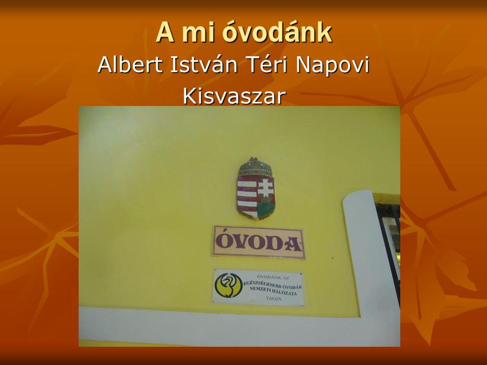 Albert István Téri Napovi Kisvaszar