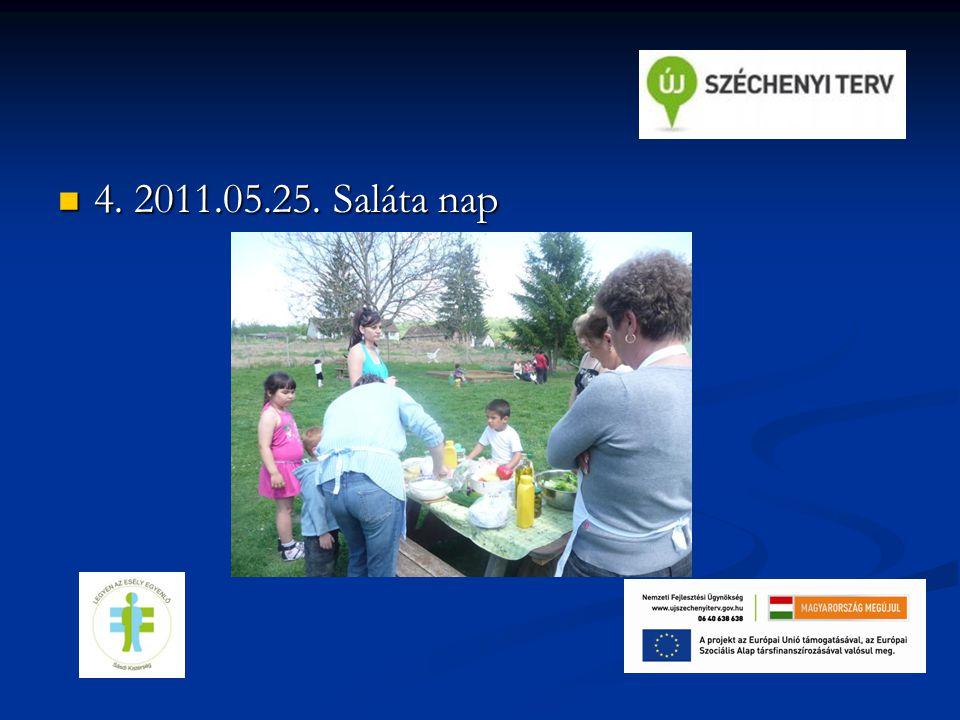 4. 2011.05.25. Saláta nap