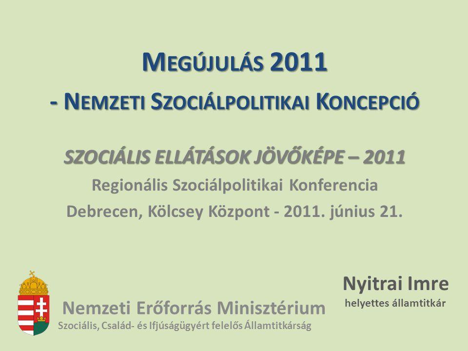 Megújulás 2011 - Nemzeti Szociálpolitikai Koncepció