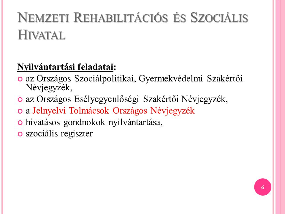 Nemzeti Rehabilitációs és Szociális Hivatal