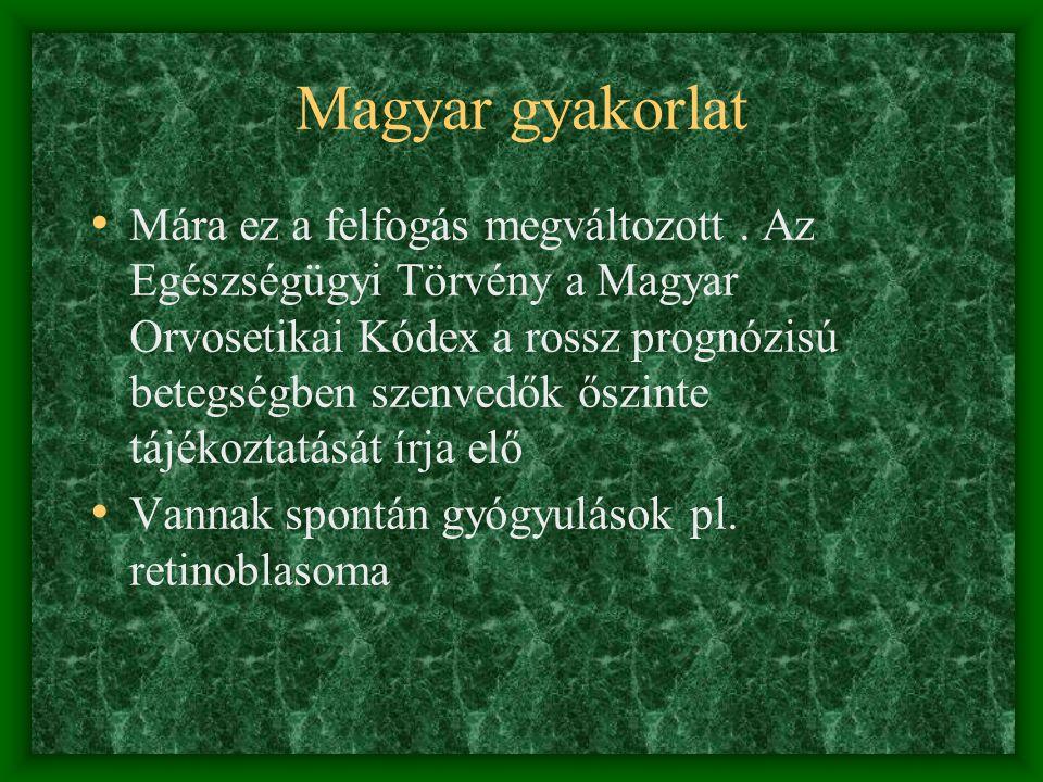 Magyar gyakorlat