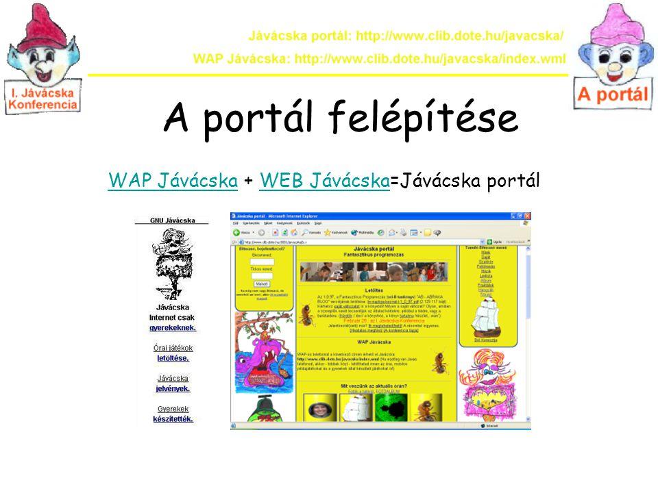 WAP Jávácska + WEB Jávácska=Jávácska portál