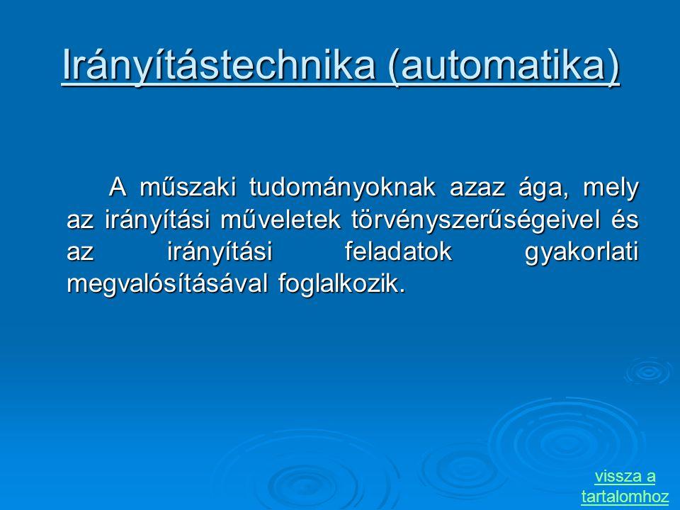 Irányítástechnika (automatika)