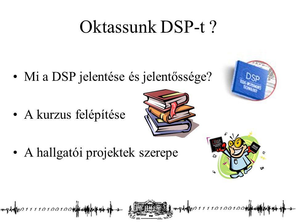 Oktassunk DSP-t Mi a DSP jelentése és jelentőssége