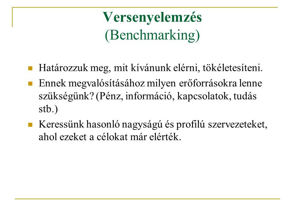 Versenyelemzés (Benchmarking)