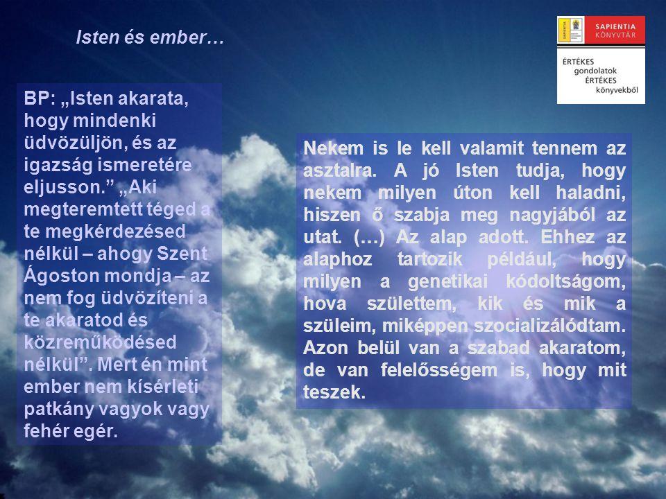 Isten és ember…