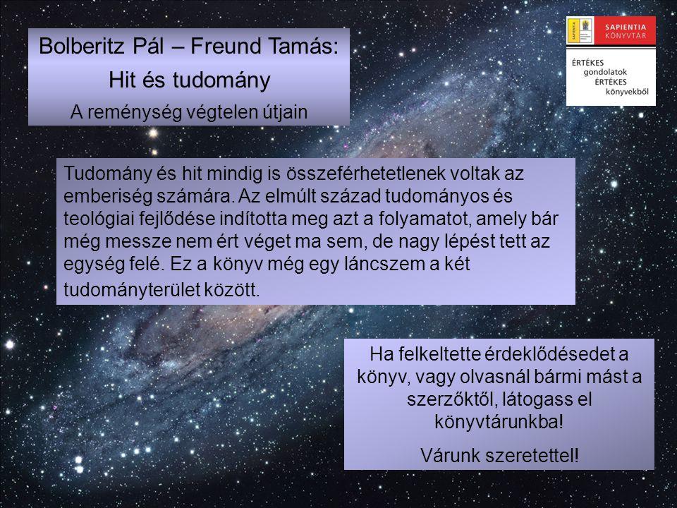 Bolberitz Pál – Freund Tamás: