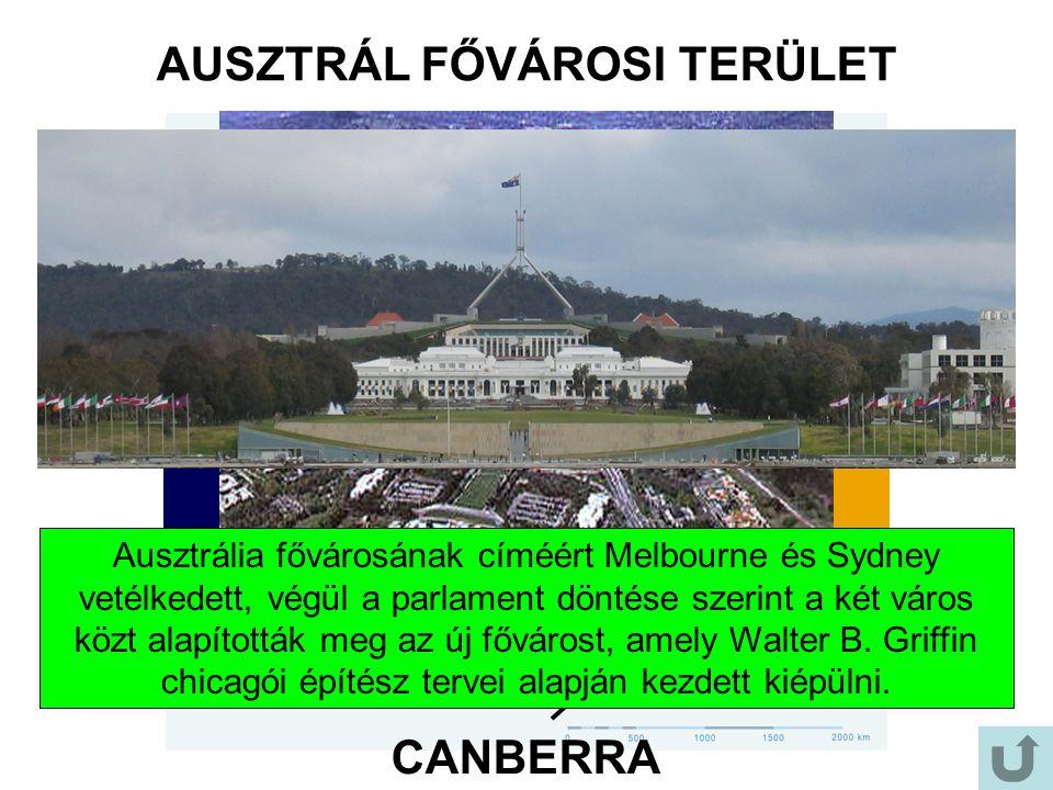 AUSZTRÁL FŐVÁROSI TERÜLET