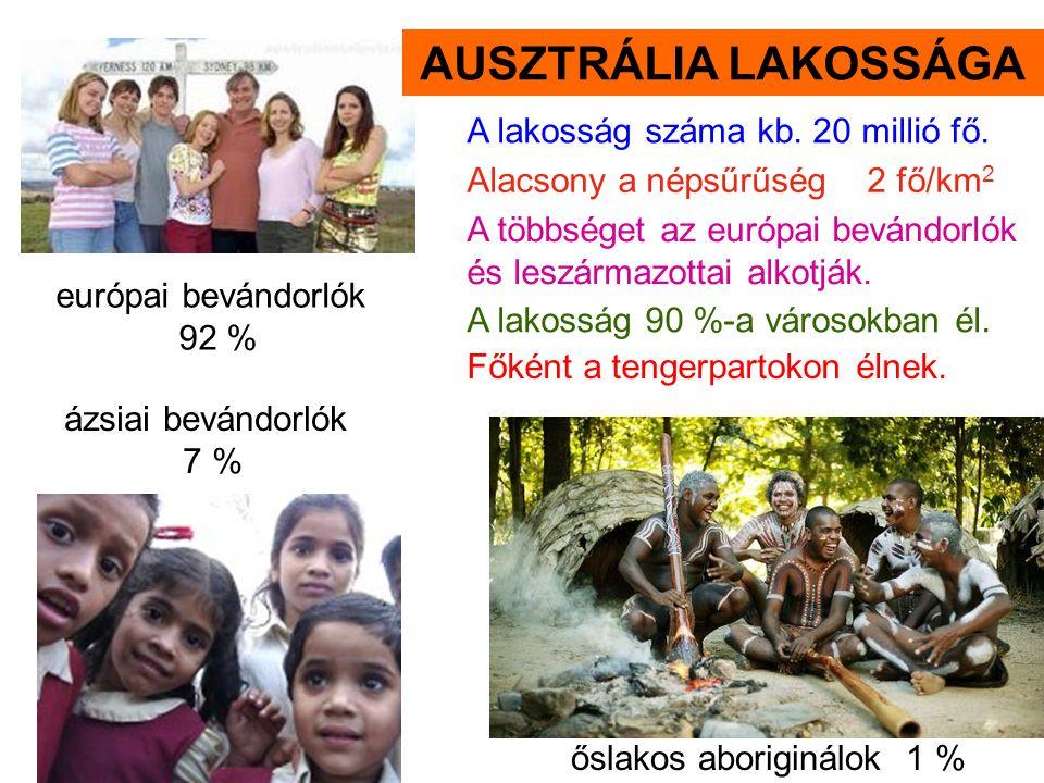 őslakos aboriginálok 1 %