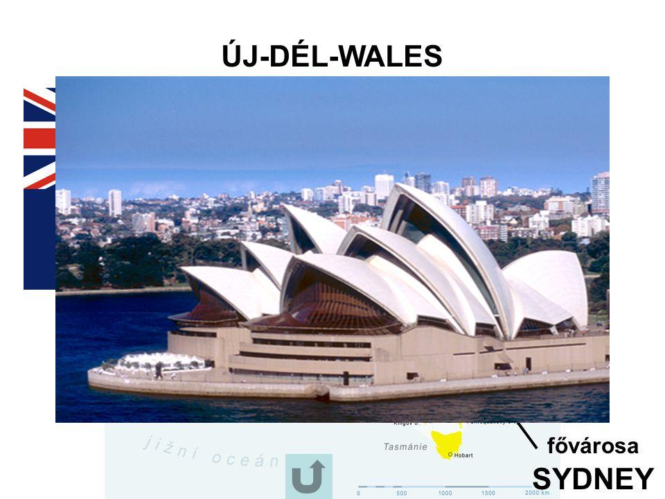ÚJ-DÉL-WALES fővárosa SYDNEY