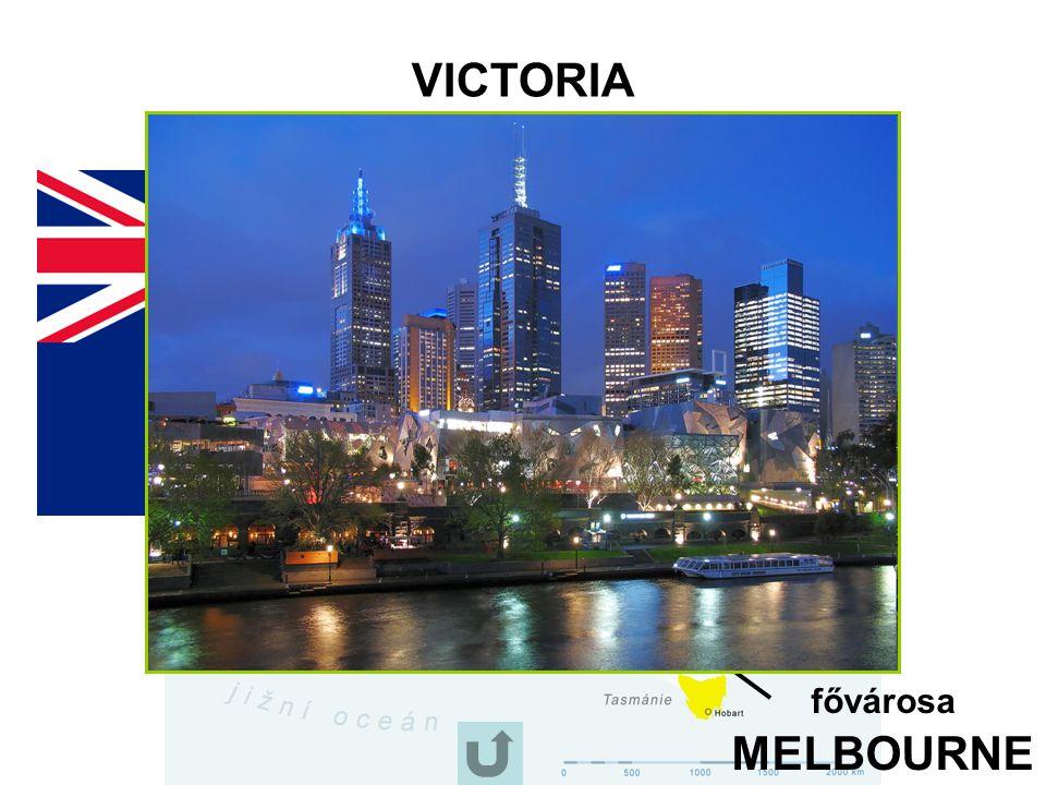 VICTORIA fővárosa MELBOURNE