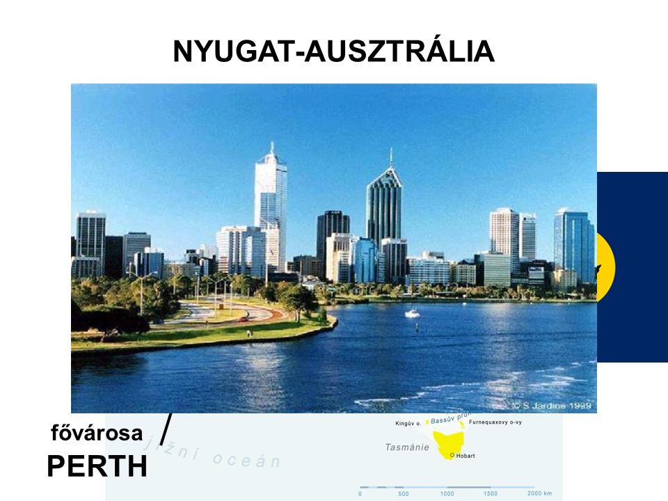 NYUGAT-AUSZTRÁLIA fővárosa PERTH