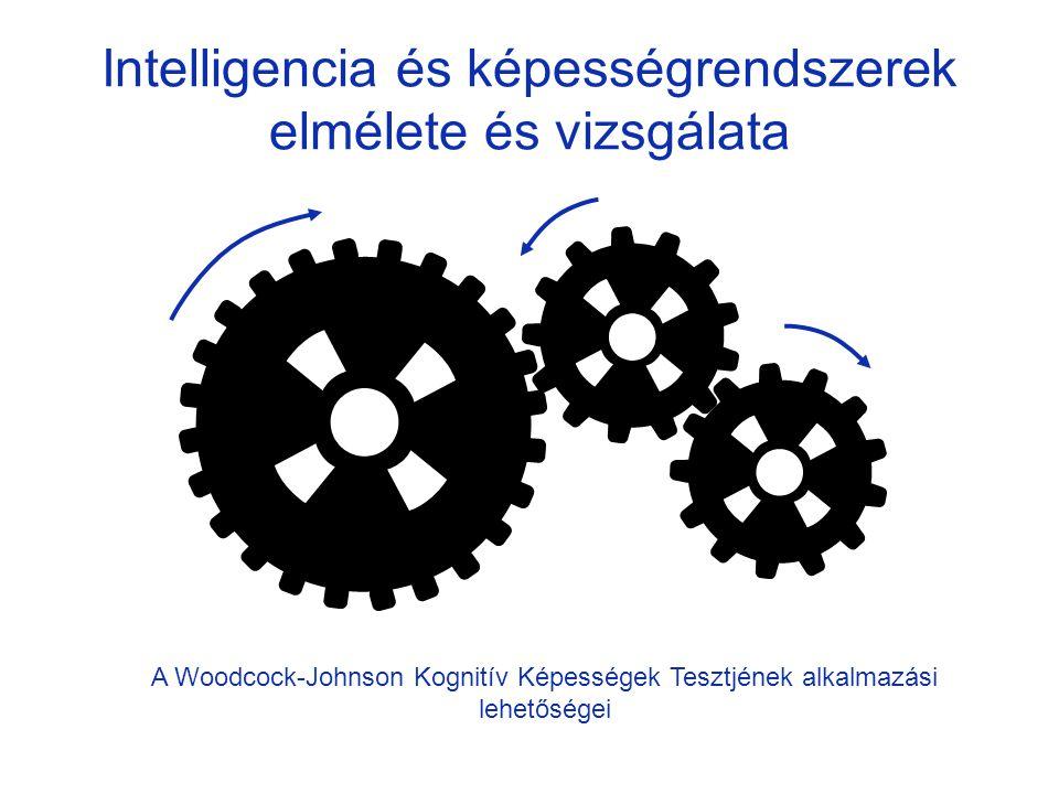 Intelligencia és képességrendszerek elmélete és vizsgálata