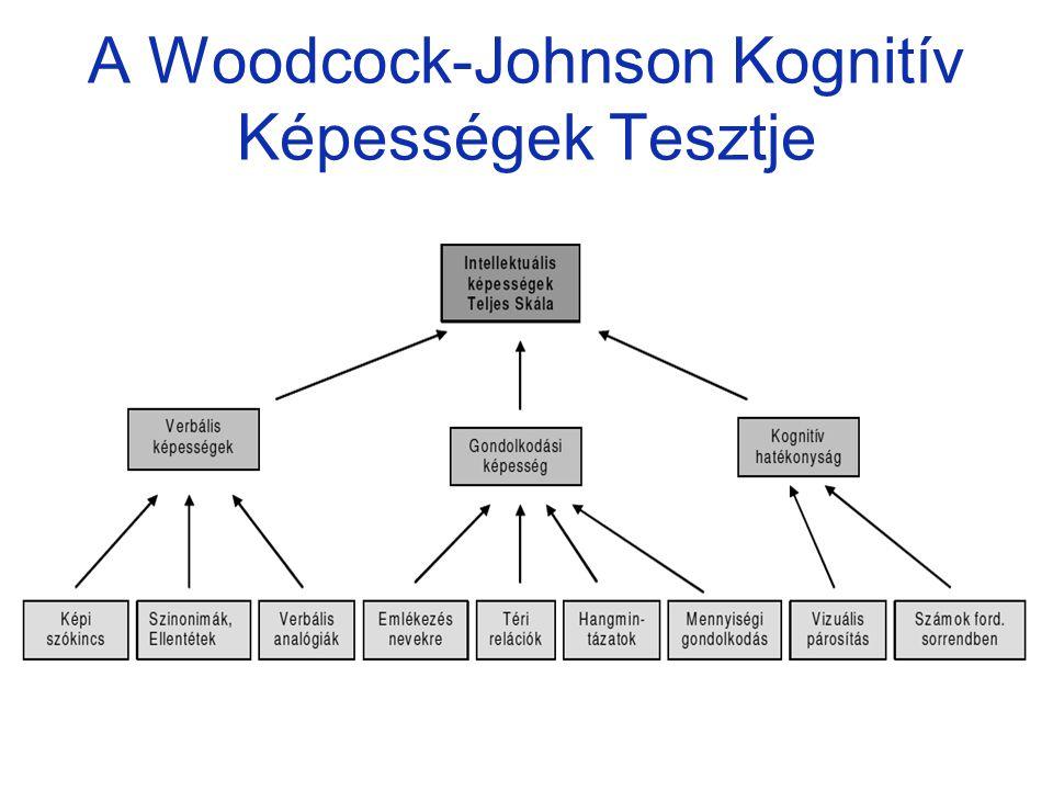 A Woodcock-Johnson Kognitív Képességek Tesztje
