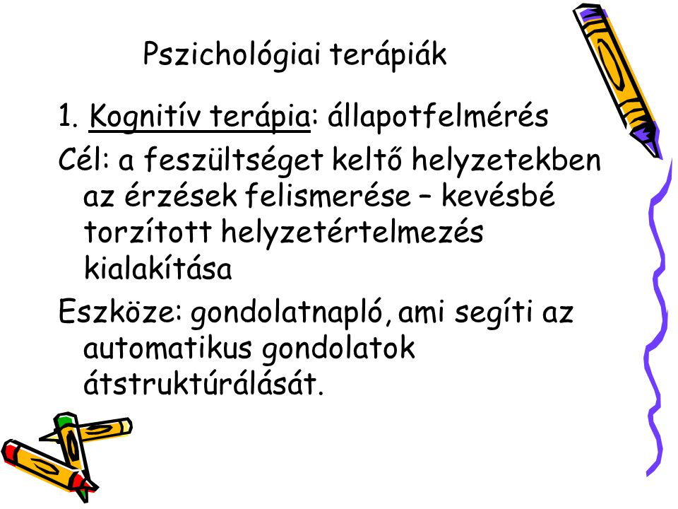 Pszichológiai terápiák