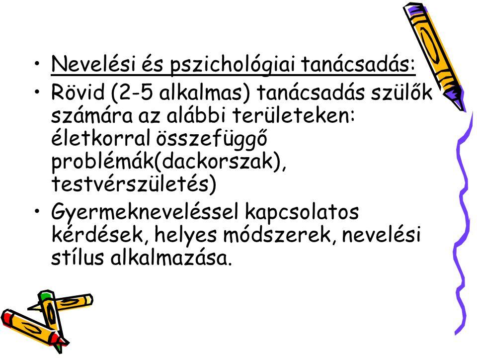 Nevelési és pszichológiai tanácsadás: