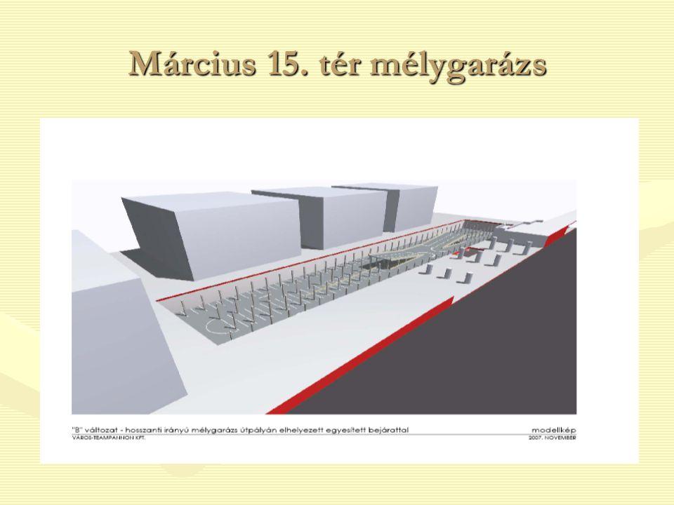 Március 15. tér mélygarázs