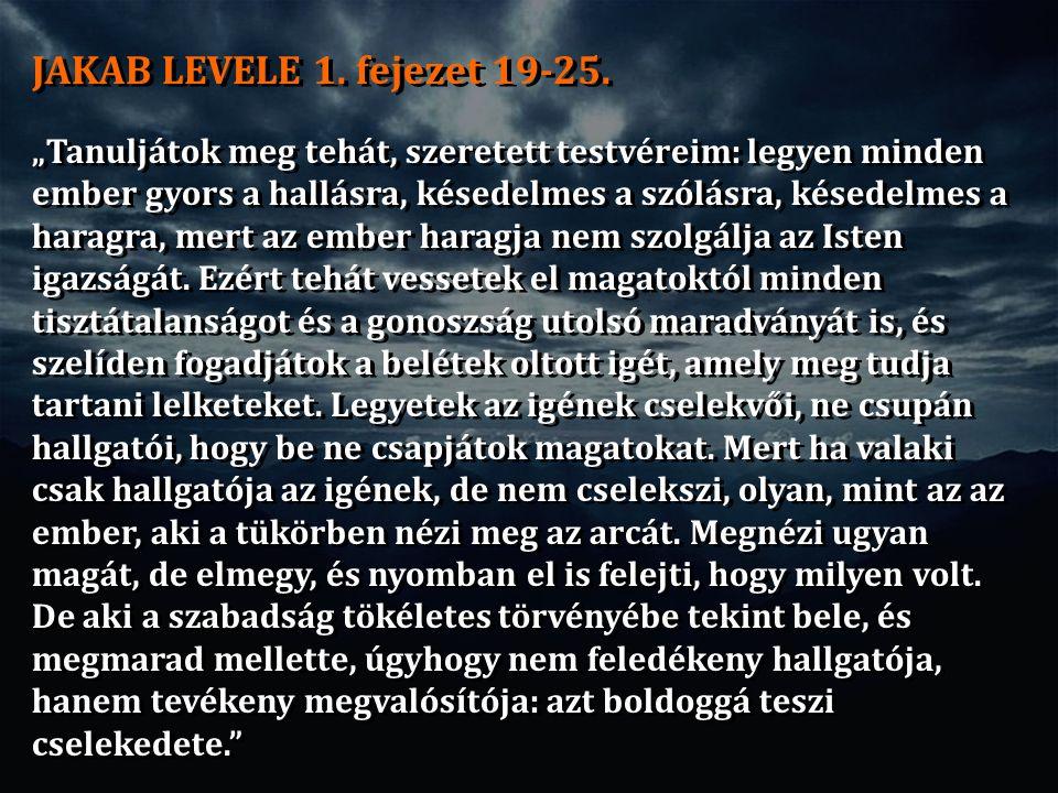 JAKAB LEVELE 1. fejezet 19-25.