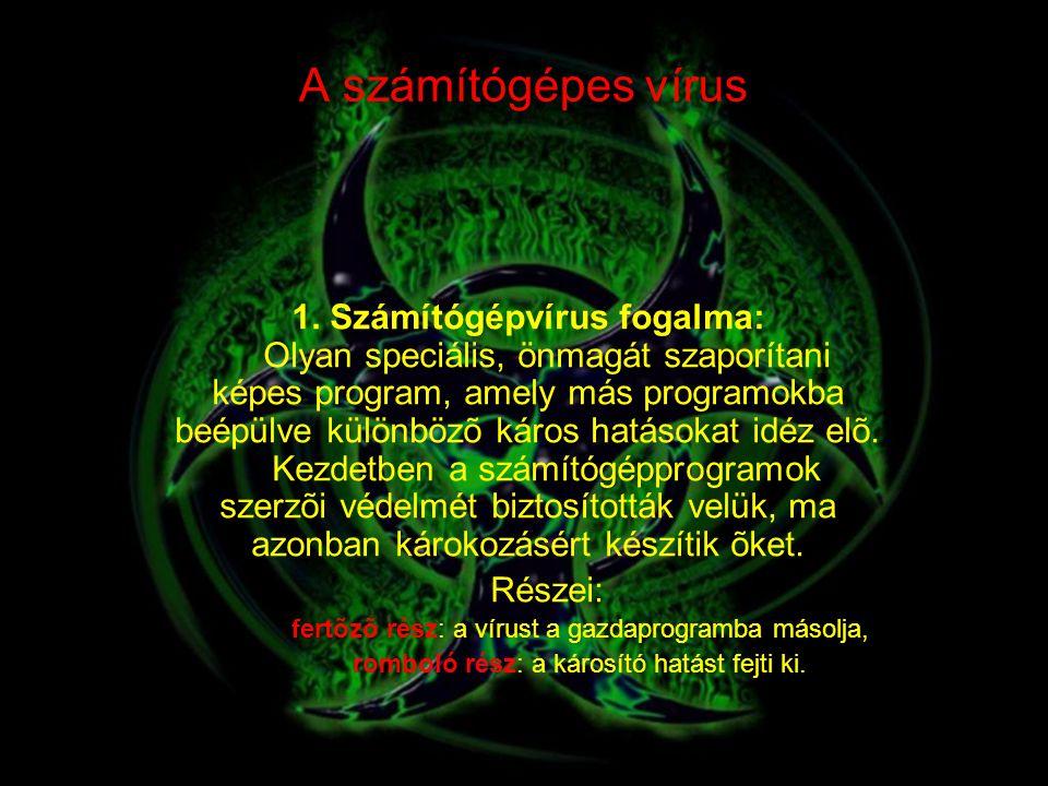 A számítógépes vírus