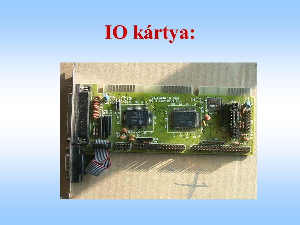 IO kártya: