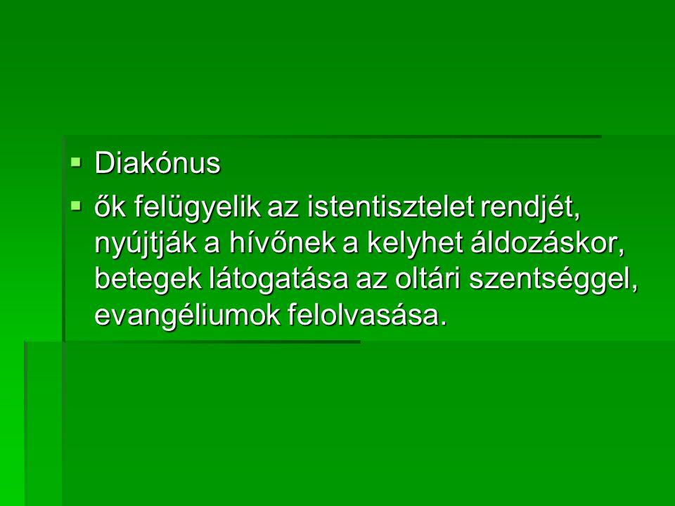 Diakónus